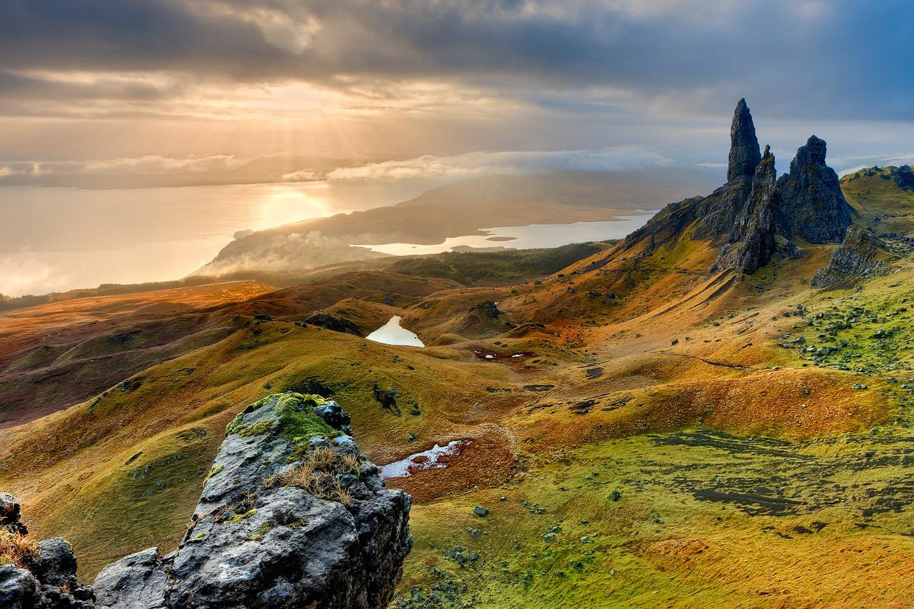 Szkocja: zamki, whisky, przyroda (dla Singli)