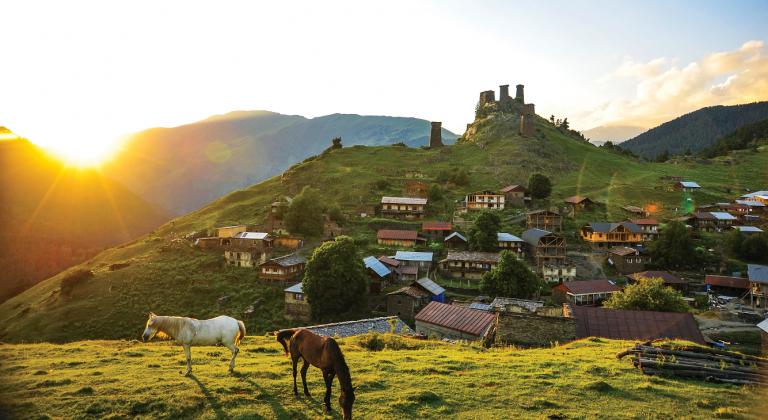 Gruzja – kraj, w którym narodziło się wino